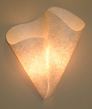 Double Scoop Wall Sconce
